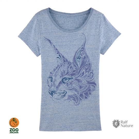 Tričko dámské - Rys