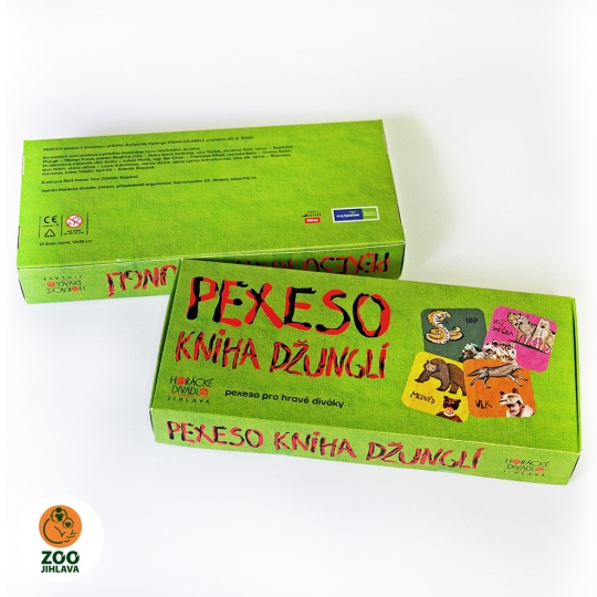 Pexeso Kniha džunglí
