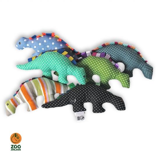 Látkové zvířátko - dinosaurus