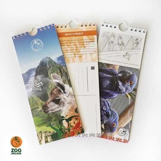 Pohlednicový kalendář — Klenoty říše Inků