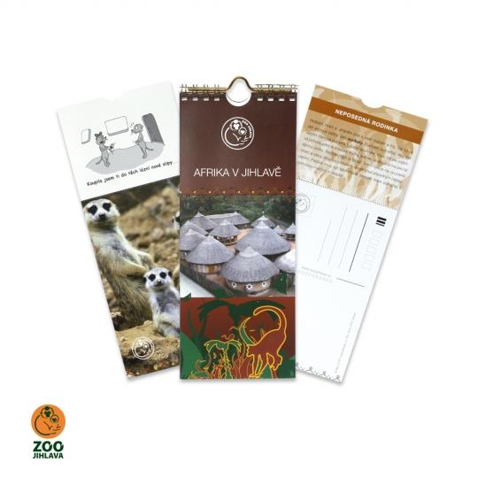 Pohlednicový kalendář — Afrika