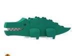 Edukativní skládací hračka - krokodýl