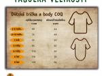 body dětské COQ - tukan