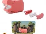 Edukativní skládací hračka - hroch