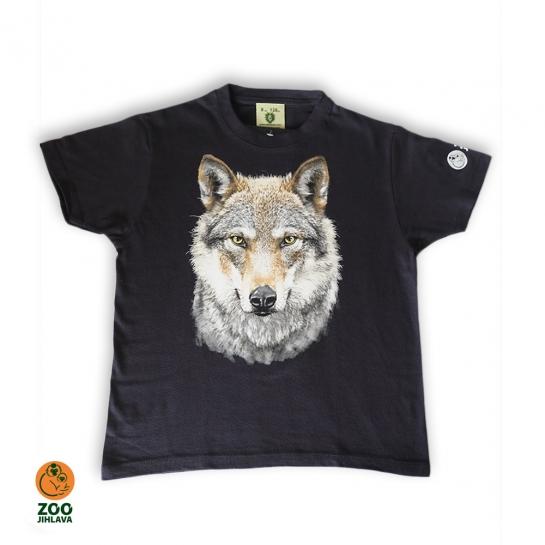 Tričko dětské - Vlk