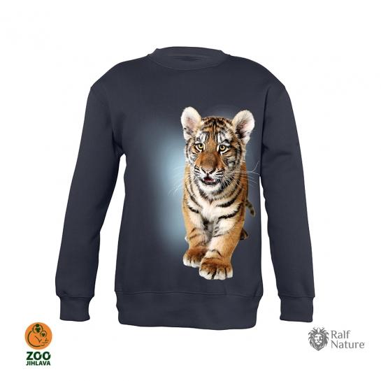 mikina dětská - tygr