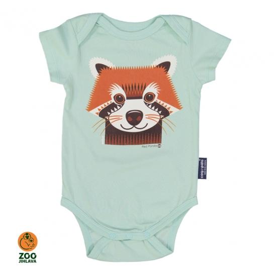 body dětské COQ - panda červená