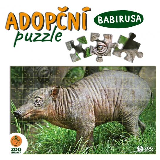 Adopční puzzle - babirusa
