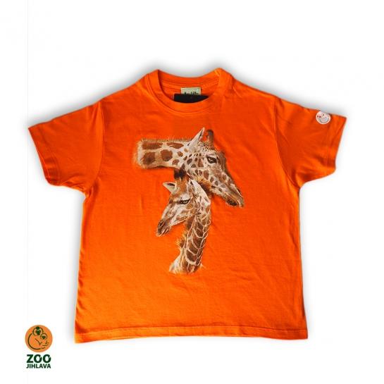 Tričko dětské - Žirafy