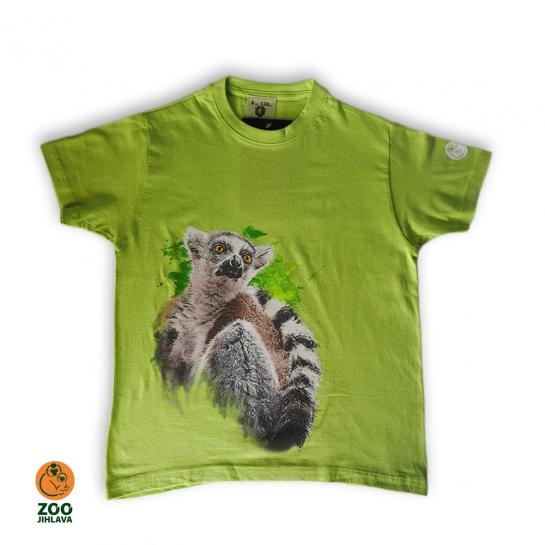 Tričko dětské - Lemur