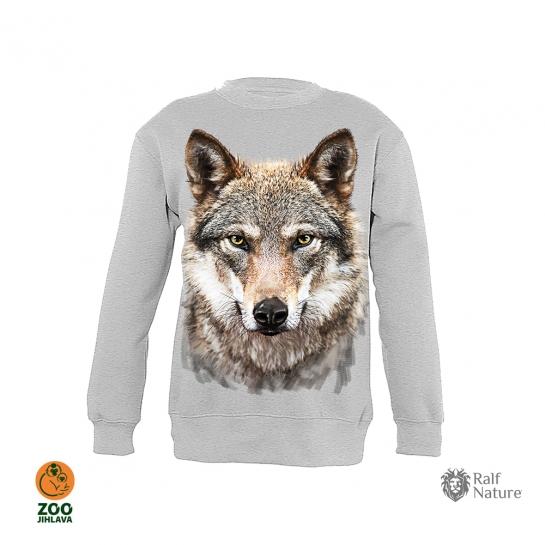Mikina dětská - vlk