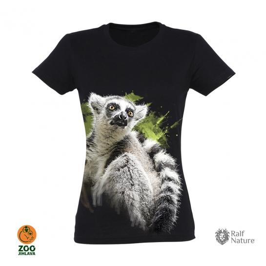 Tričko dámské - Lemur