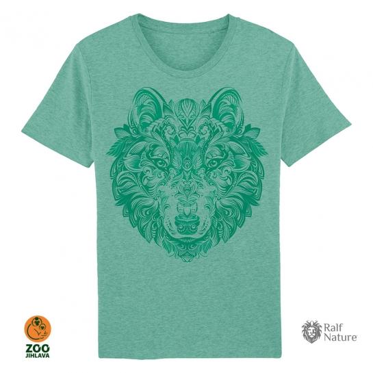 Tričko pánské - Vlk