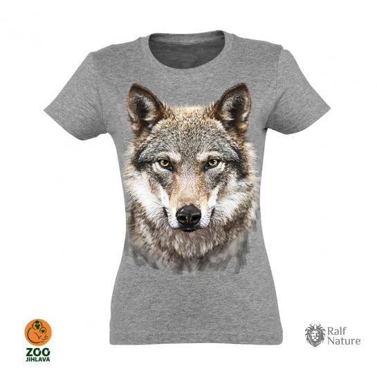Tričko dámské - Vlk