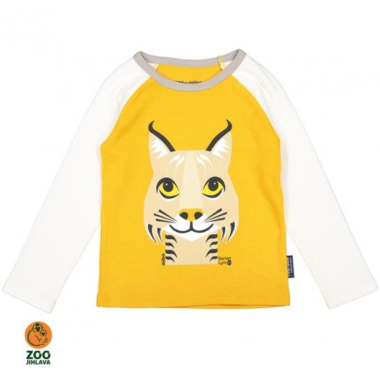 Tričko dětské  s dlouhým rukávem COQ - rys