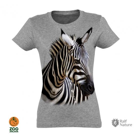 Tričko dámské - Zebra