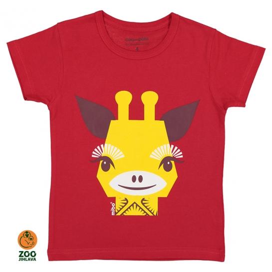 Tričko dětské COQ - žirafa