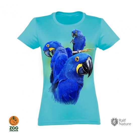 Tričko dámské - Ara (modré)