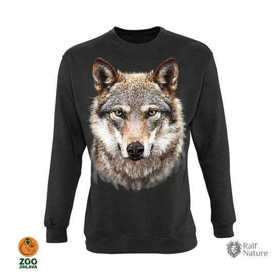 Mikina dospělá  - vlk