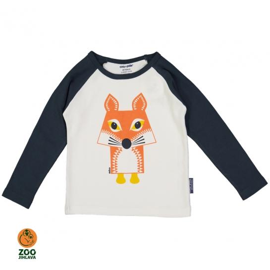 Tričko dětské  s dlouhým rukávem COQ - liška