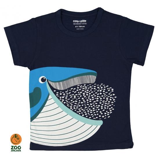Tričko dětské COQ - velryba