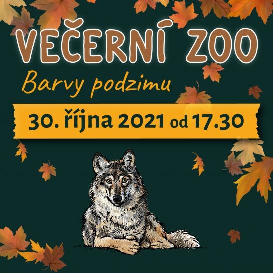 Večerní zoo - barvy podzimu 30.10.2021 od 17:30 hod.