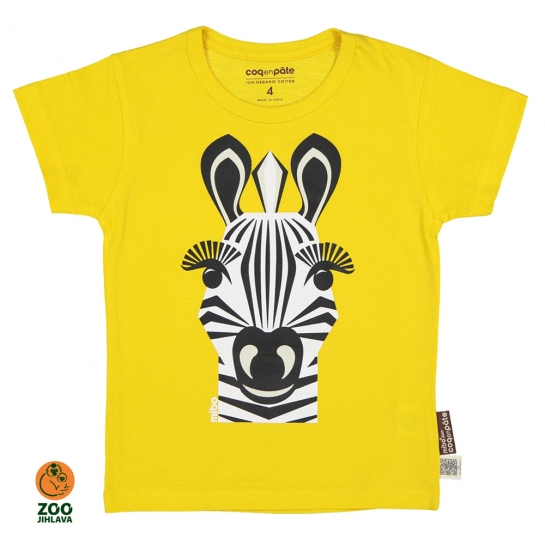 Tričko dětské COQ - zebra