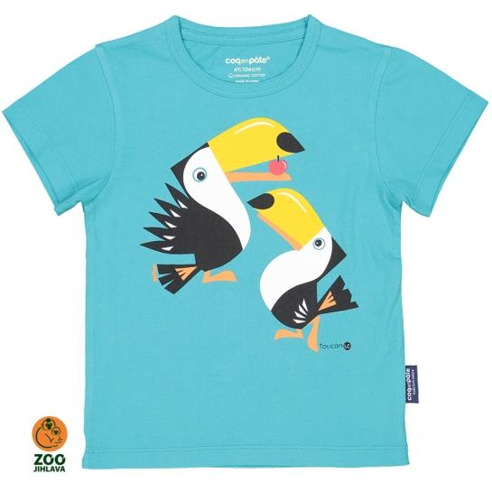 Tričko dětské COQ - tukan