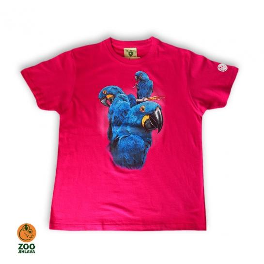 Tričko dětské - Ara hyacintový
