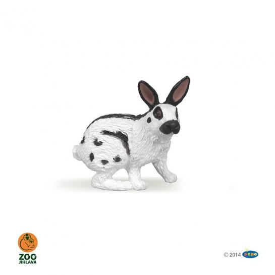 Figurka králík strakáč