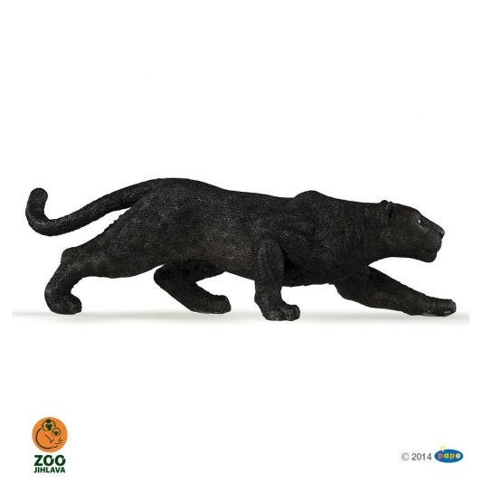 Figurka levhart melanický černý