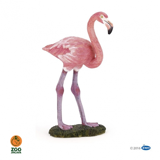 Figurka plameňák růžový