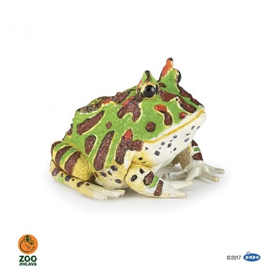 Figurka žába rohatka