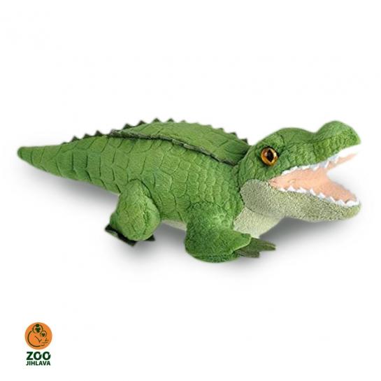 Hrající plyšák krokodýl